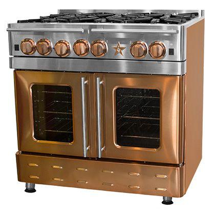 Open Burner Gas Ranges And Stoves Kitchen Design Trends Custom Kitchen Appliances Freestanding Ranges