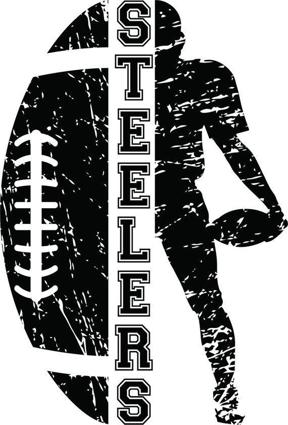 Steelers SVG, Football Cut file, Cheer svg, School