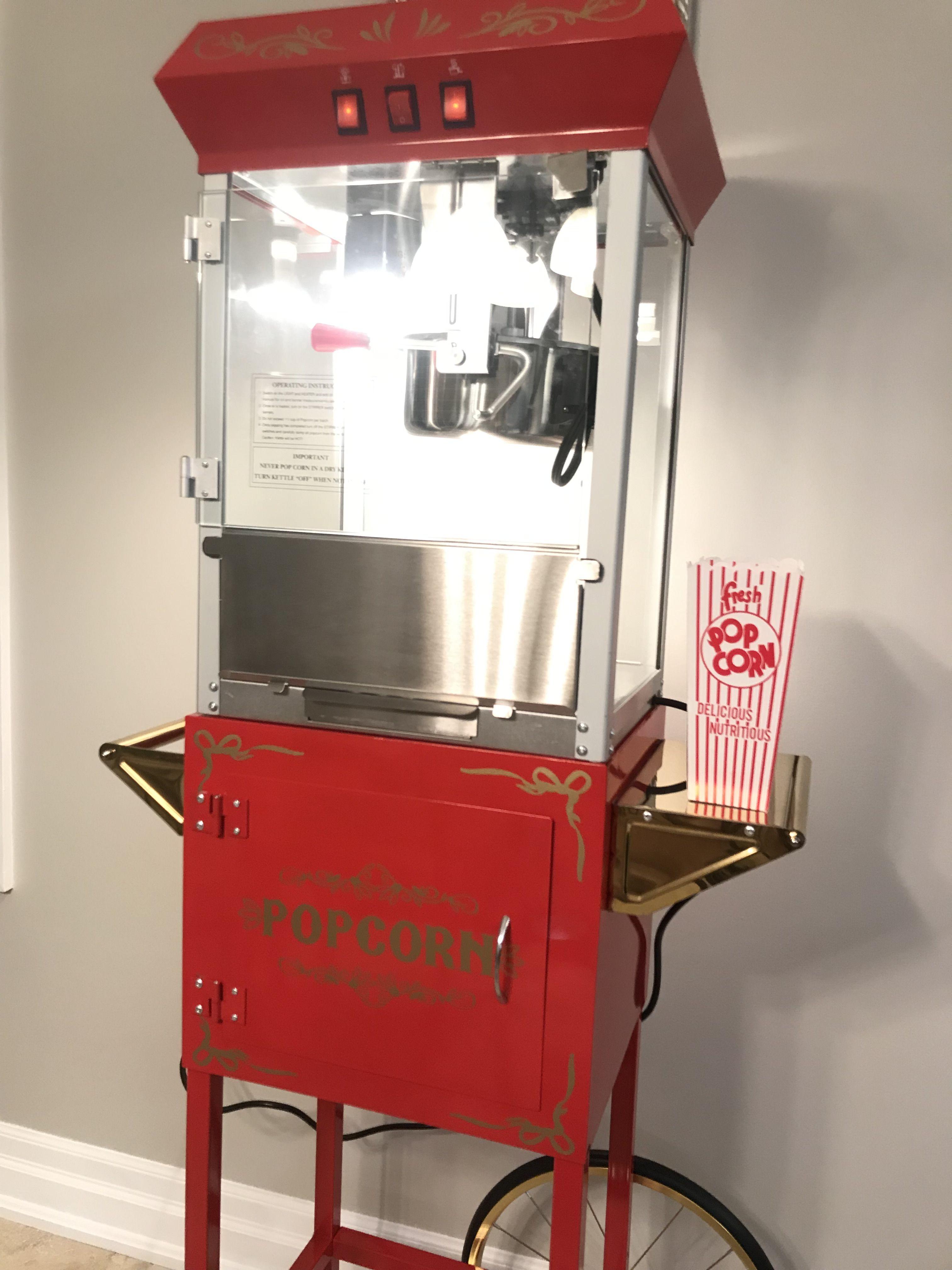 Loving my popcorn machine from The Canada Popcorn Company ...