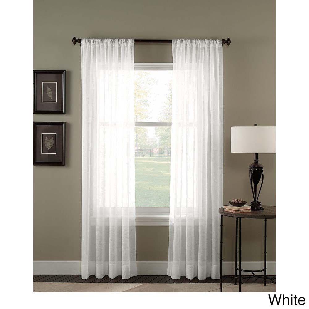 Explore Quarto Lilas Cortinas Para E Muito Mais Trinity Crinkle Voile Extrawide Sheer Curtain Panel