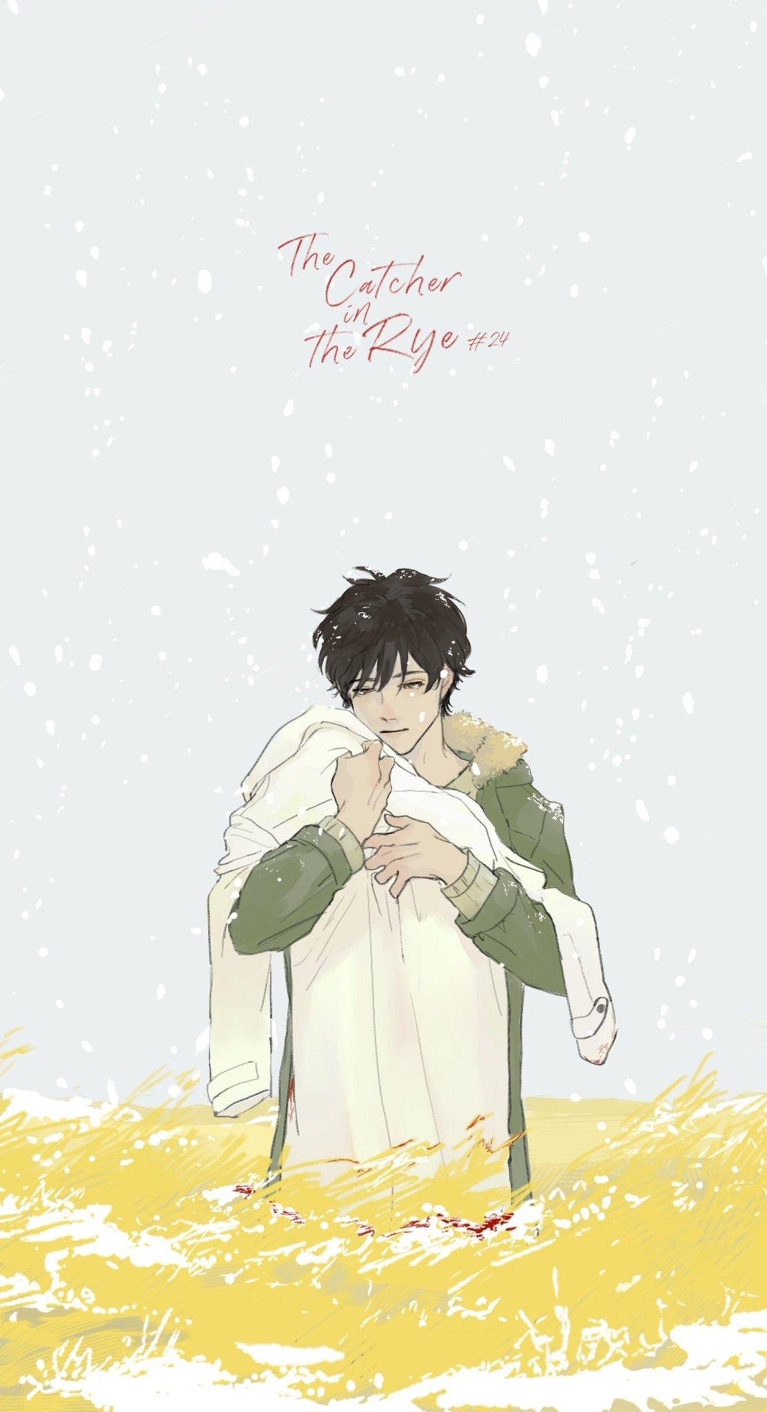 The Catcher In The Rye Last Episode Of Banana Fish Eiji In 2020 Anime Wallpaper Aesthetic Anime Cute Anime Wallpaper