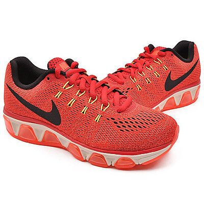 3d0555344fd7 Nike Air Max Tailwind 8 Womens 805942-600 Red Orange Running Shoes Size 11