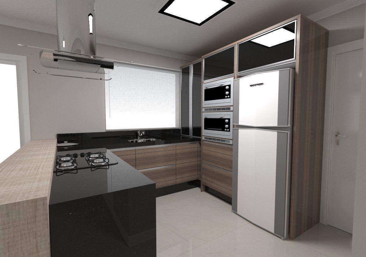 Cozinha Em U Decora O Pinterest Cozinha Ilhas E Cozinha