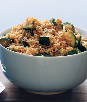 Couscous with Spiced Zucchini / Romulo Yanes