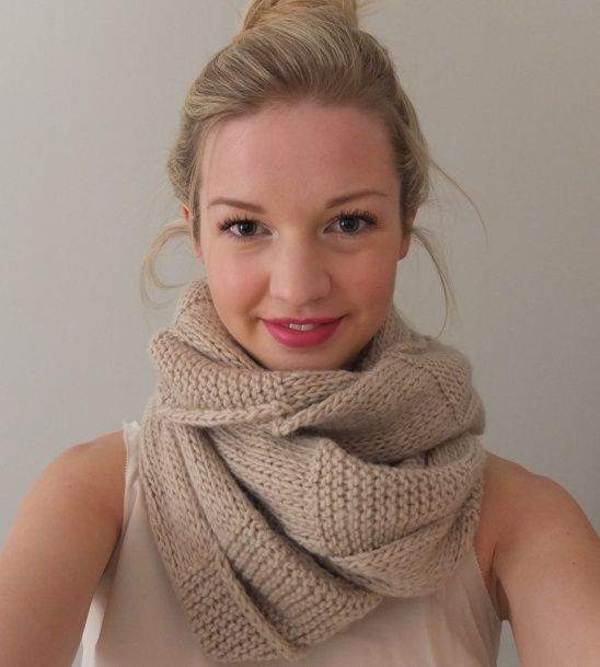 Textured Circle Scarf By Kate Smalley Nice Check And Scarves