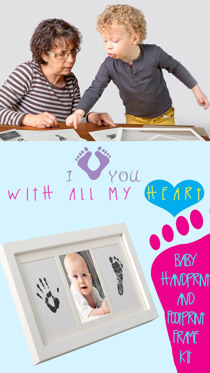 The baby footprint ink kit from bubzi co is an easy diy project and perfect baby keepsake gift for new parents or grandparents this baby prints kit