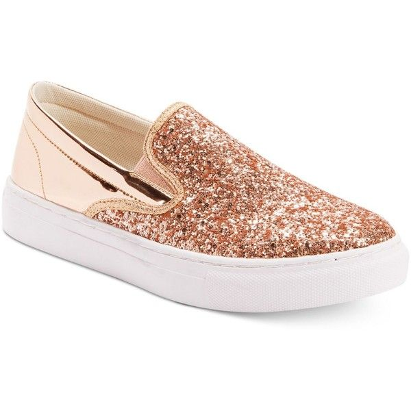 add40d107dd11 Wanted Spangle Glitter Slip-On Sneakers ( 50) ❤ liked on Polyvore featuring  shoes