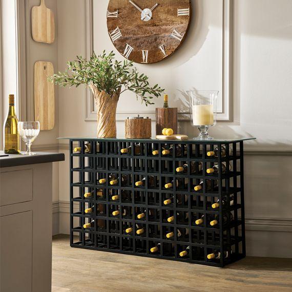 Cricova Wine Rack Console Table Wine Rack Table Console Table