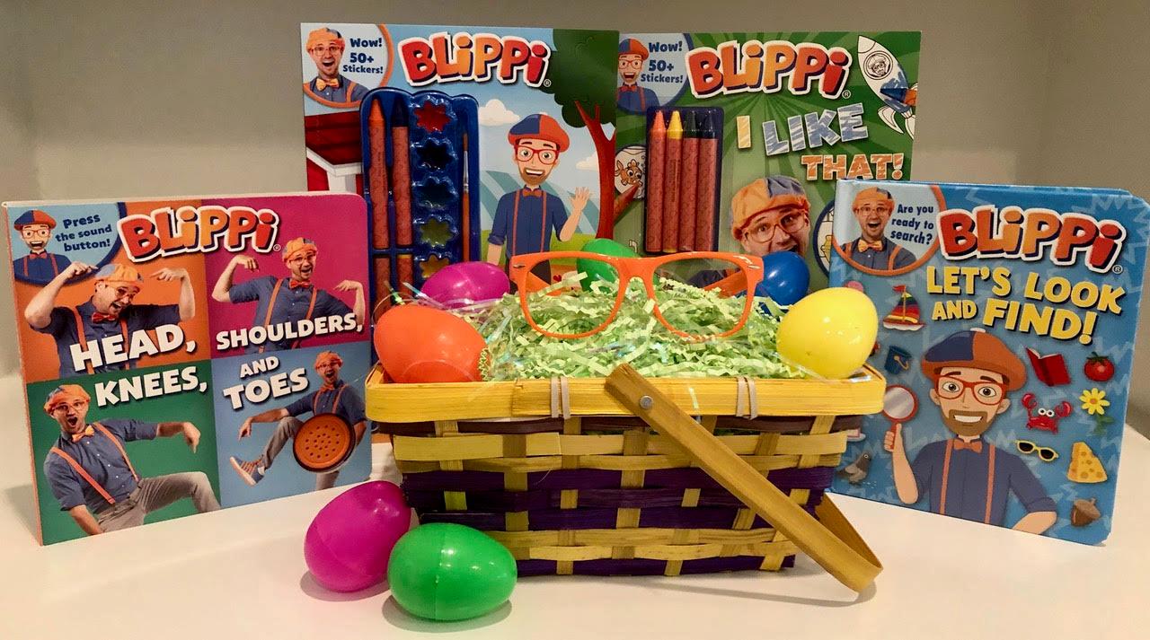Blippi Easter Basket Giveaway in 2020 Toddler books
