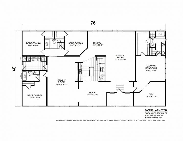 Mountain Side In 2020 Bungalow Floor Plans Mobile Home Floor Plans Modular Home Floor Plans