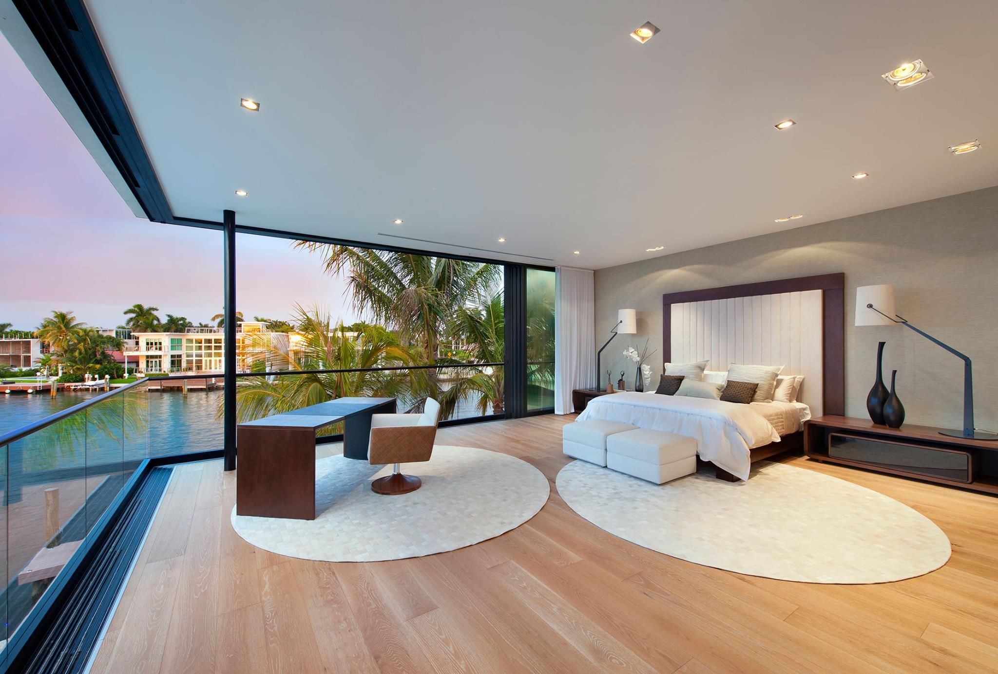 Stunning contemporary luxury home offers over 9,600 sq ft