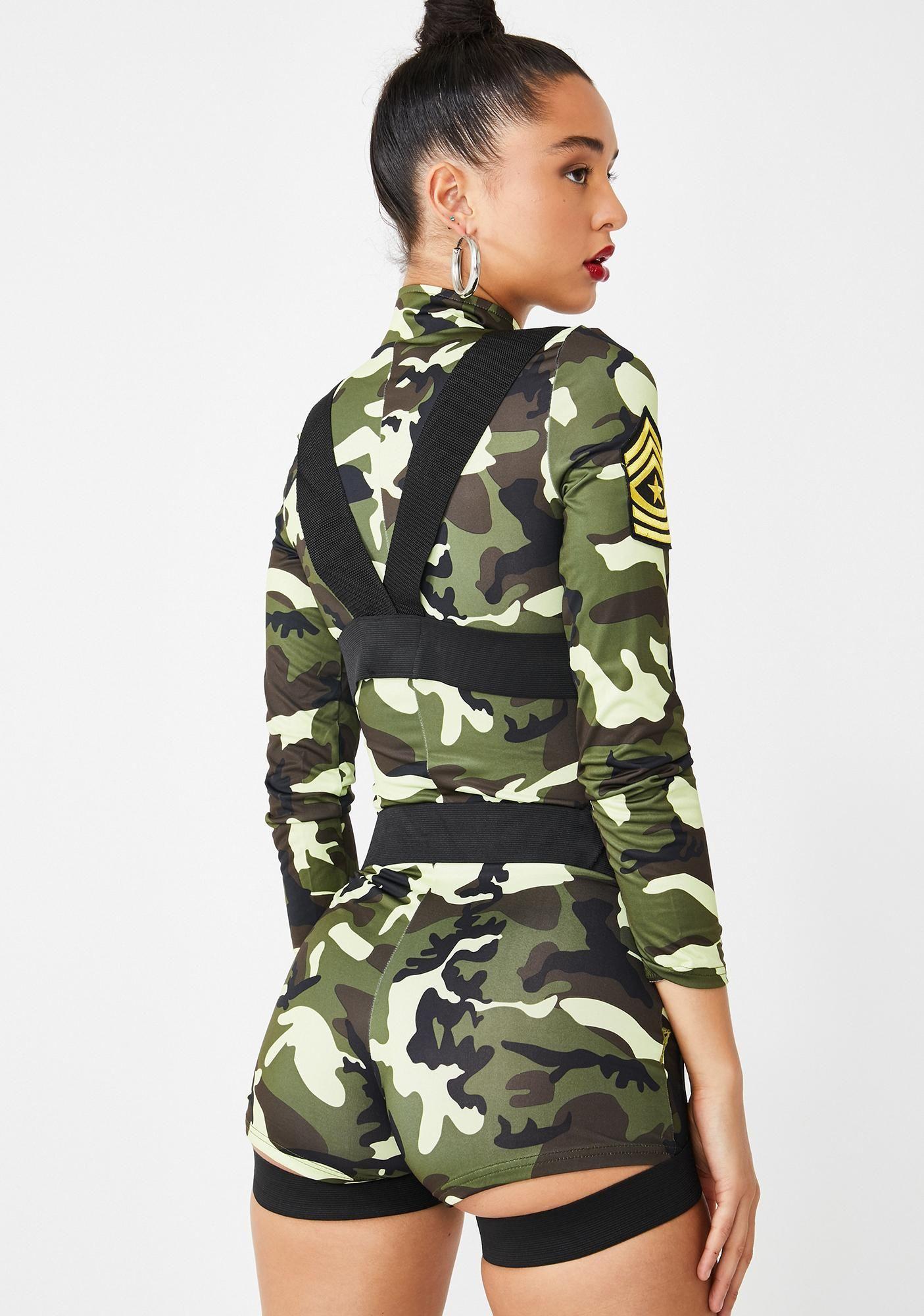 Goin Commando Costume in 2020 Army girl costumes, Punk