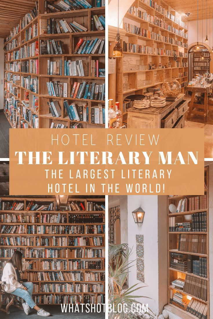 The Literary Man in Obidos Portugal is the largest literary hotel in the world! With over 65000 books lining their shelves and hallways this is a book lover's paradise and a must for any literary traveller. Obidos is an easy day trip from Lisbon so add it to your Portugal itinerary! #whatshotblog #literarytravel #style #shopping #styles #outfit #pretty #girl #girls #beauty #beautiful #me #cute #stylish #photooftheday #swag #dress #shoes #diy #design #fashion #Travel