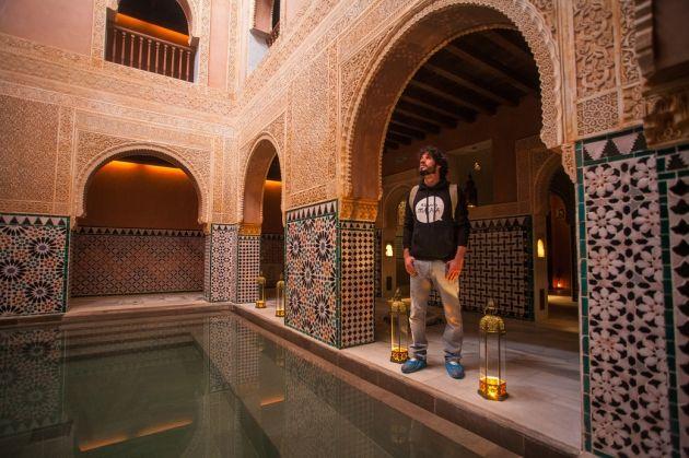 Un baño por la historia de al-Ándalus: Hammam