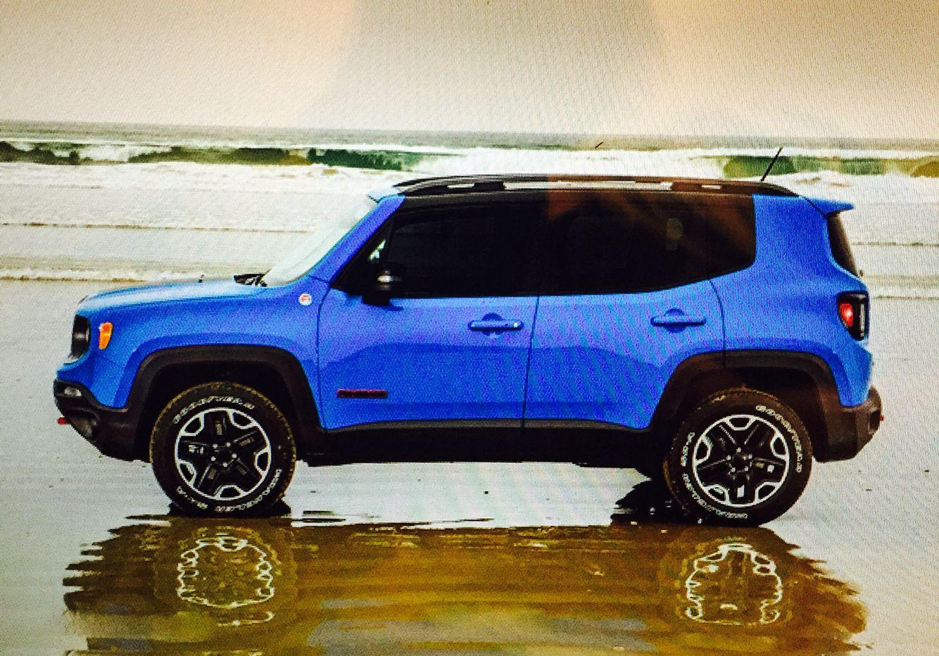 Sierra Blue Jeep Renegade 2015 Jeep renegade, Blue jeep