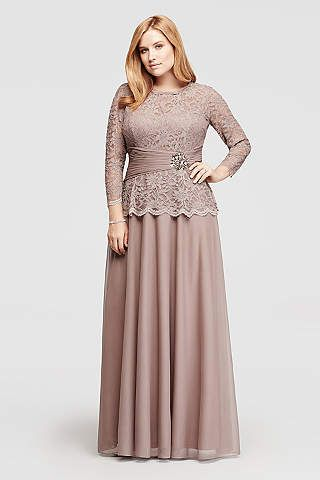 Plus Size Mother Of The Brides Dresses Davids Bridal Rustic