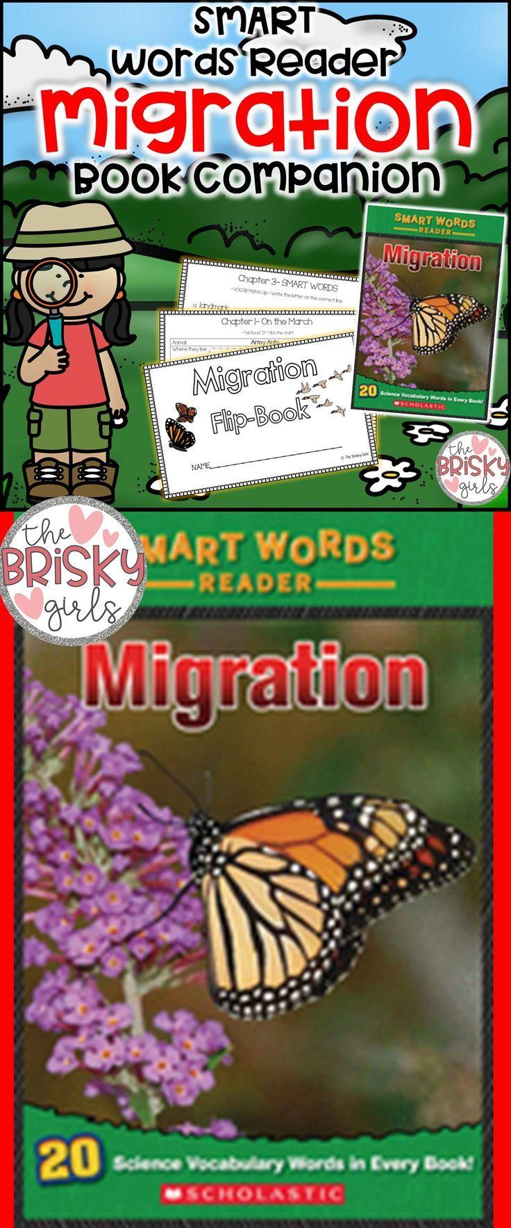 Migration Smart Words Reader Flipbook Autumn activities