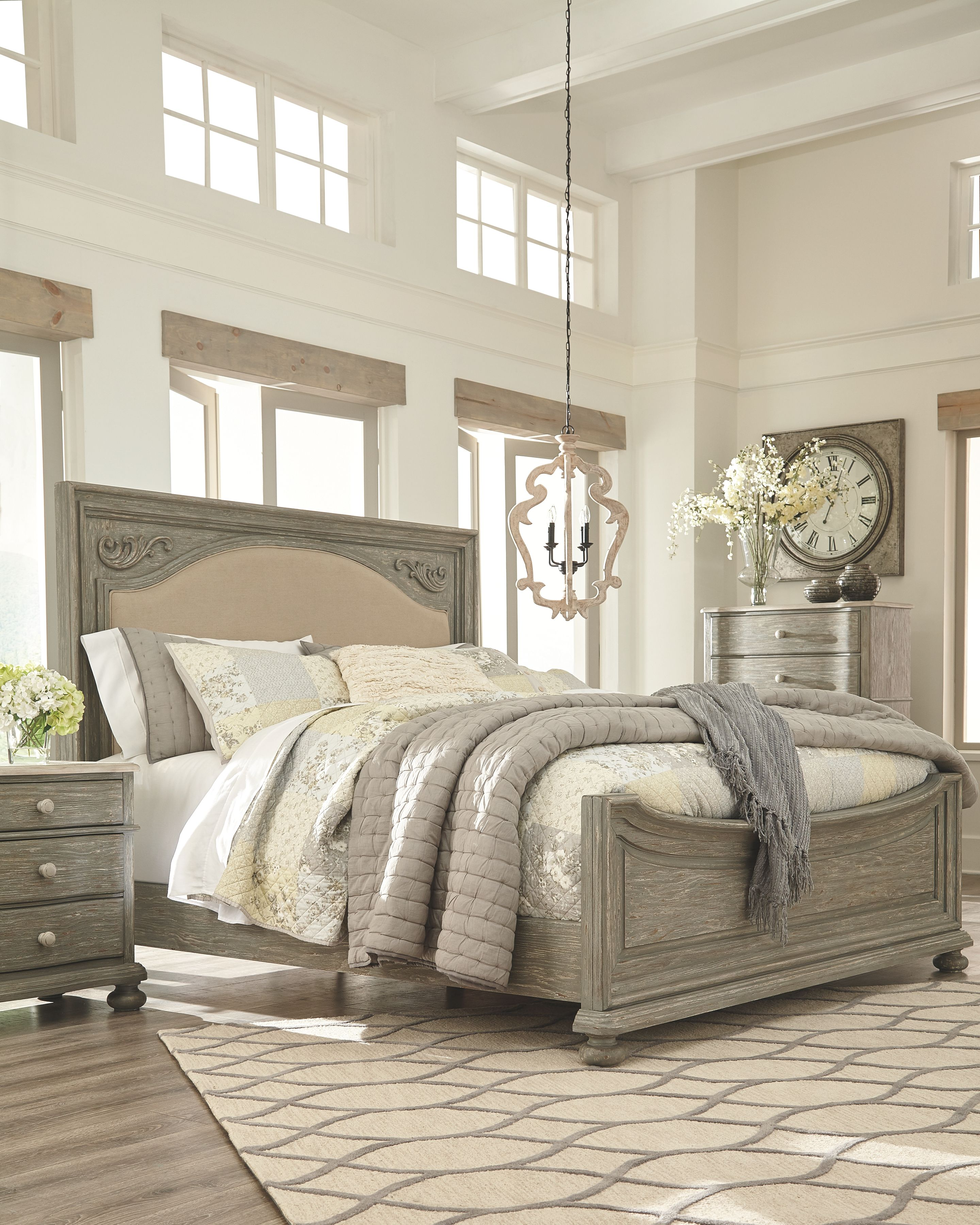 48 Grey Cal King Bedroom Set Newest