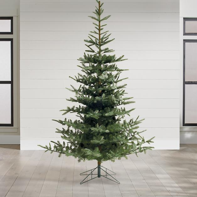 Un Lit Noblis Fir Christmas Tree Grandin Road In 2020 Fir Christmas Tree Best Artificial Christmas Trees Types Of Christmas Trees