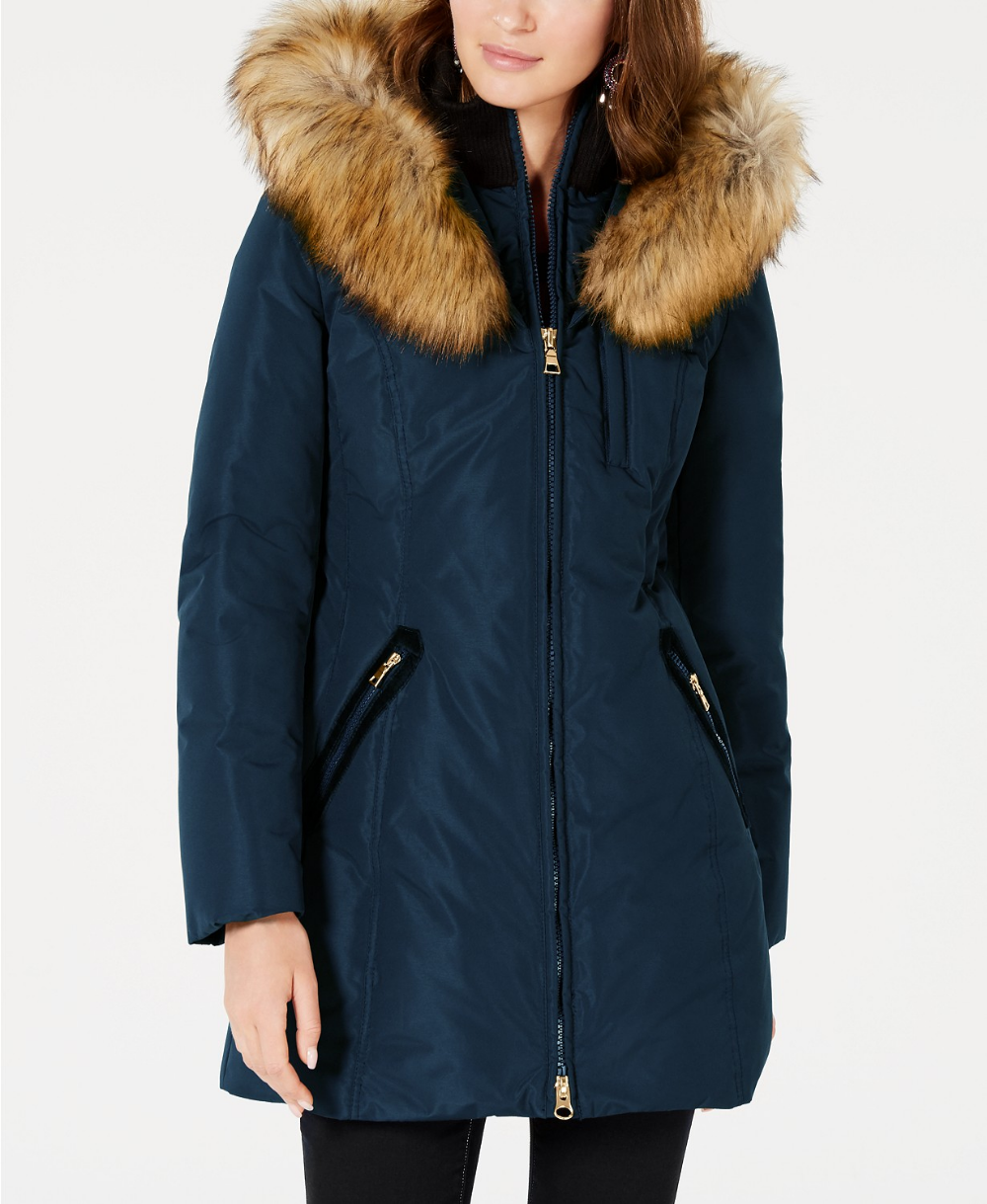 Inc International Concepts Inc Front Zip Faux Fur Trim Hooded Puffer Coat Created For Macy S Reviews Coats Wom Puffer Coat Clearance Clothes Big Clothes [ 1219 x 1000 Pixel ]