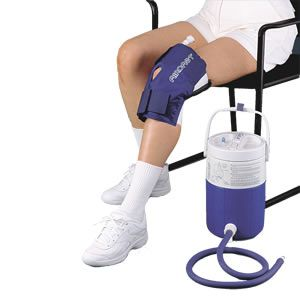 Aircast Knee Cryo Cuff With Cooler Knee Knee Injury Cold Therapy