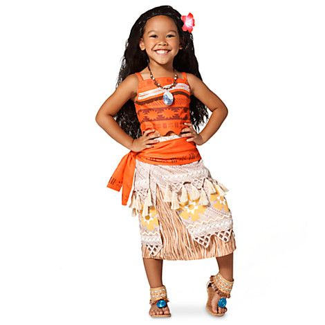 New Moana costume for girls..  Love the layers.  Great choice for Halloween!