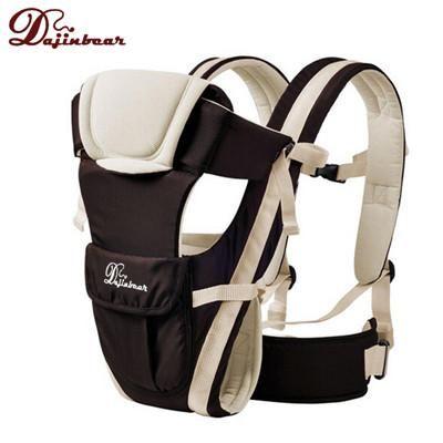 Dajinbear 2016 Baby Backpack Carrier Ergonomic Baby Sling Breathable 4 Positions Front Facing Kangaroo Horizontal Infant Wrap
