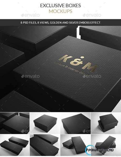Download Exclusive Boxes Mockups