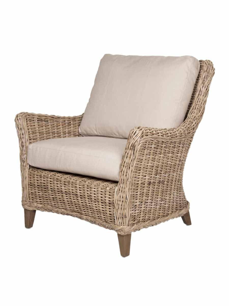 Hart Club Chair Gray Kubu Wicker Furniture Club Chairs Living Room Chairs