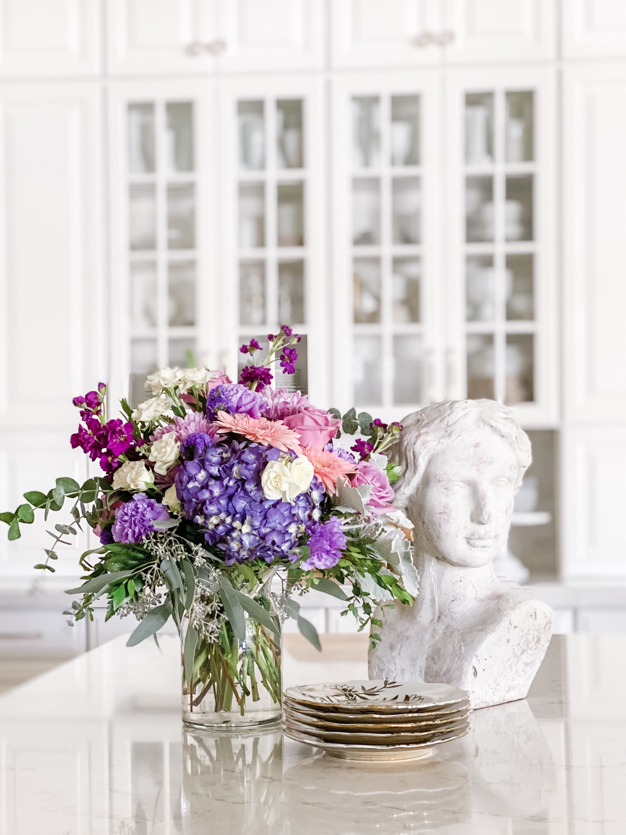 Magnificent Mauves Bouquet in 2020 Bouquet, Fall
