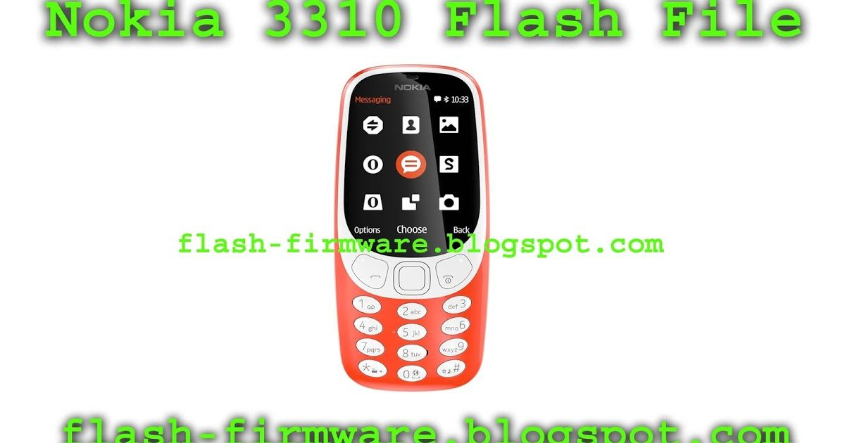 DownloadNokia 3310 ta 1030 Mtk 6260 Flash File Nokia 3310 ta 1030