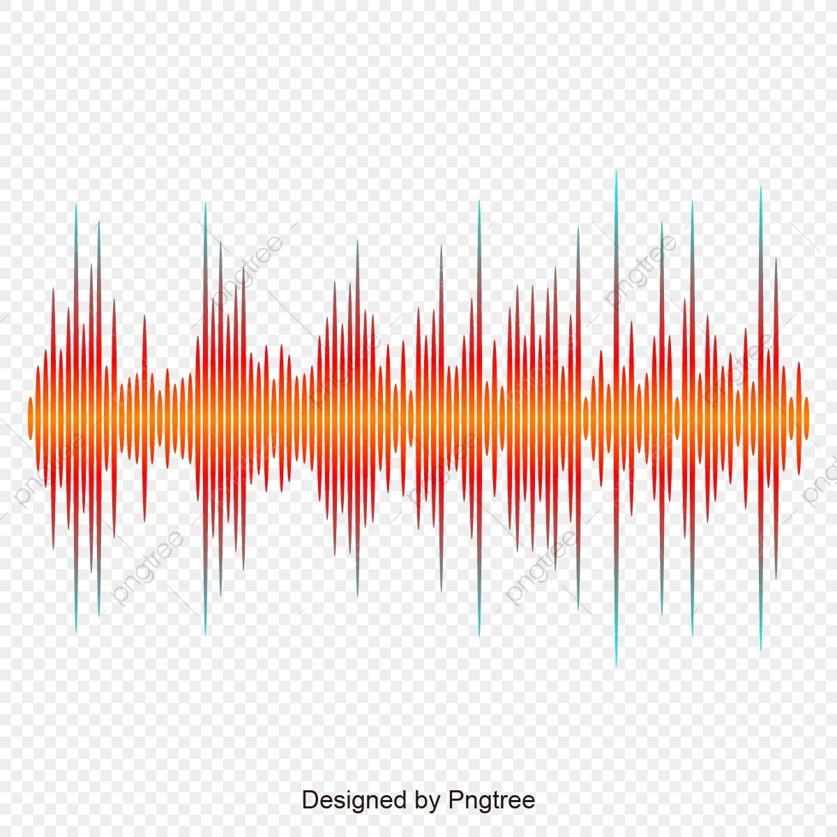 Orange Sound Wave Design Sound Wave Design Sound Wave Wave Png And Vector With Transparent Background For Free Download Sound Waves Design Sound Waves Wave Design