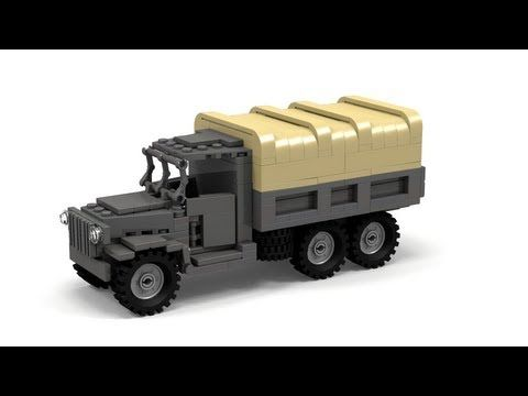 Lego Wwii Willys Mb Jeep Instructions Youtube Lego Pinterest
