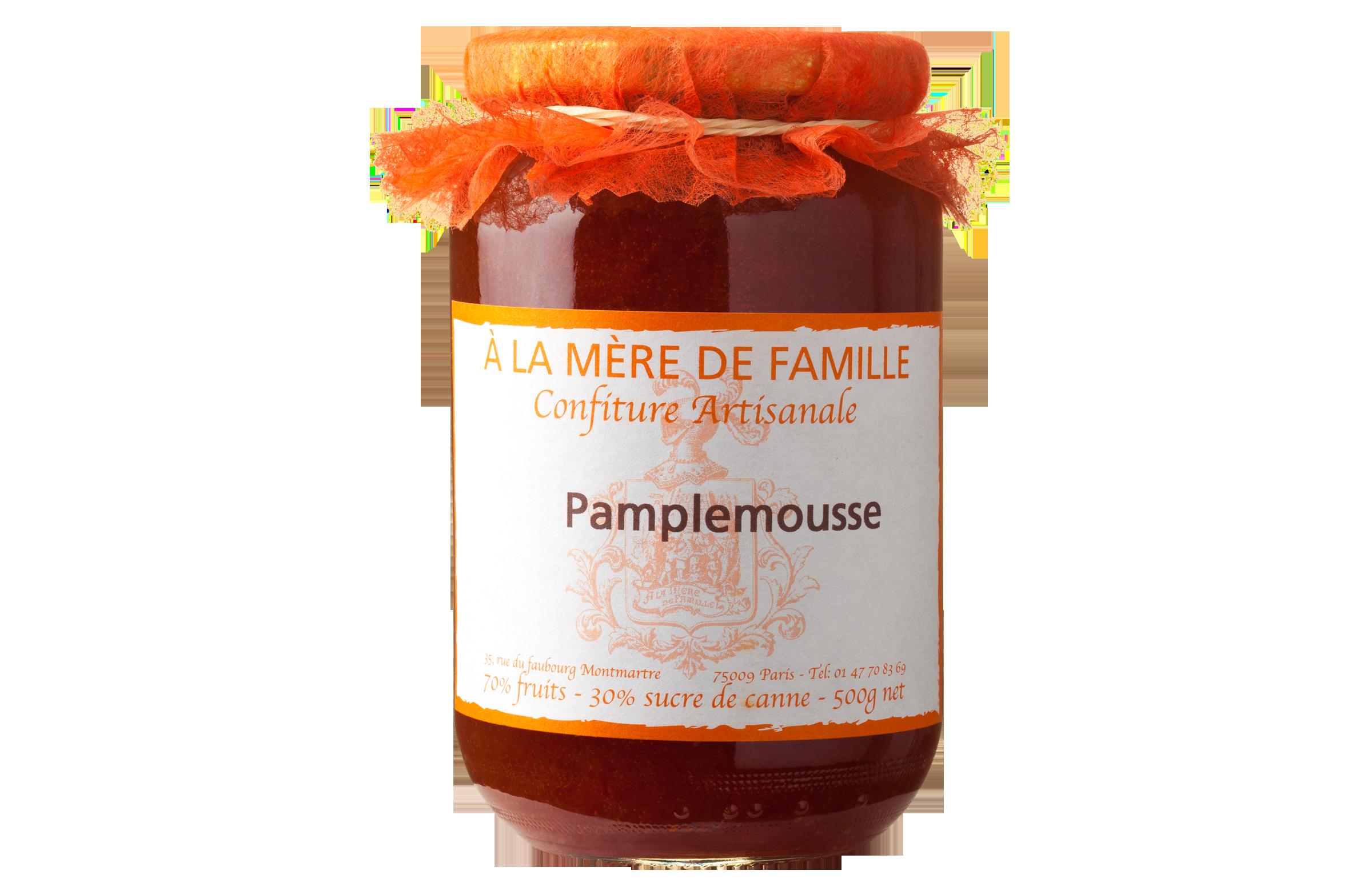 Confiture Pamplemousse - A La Mère de Famille