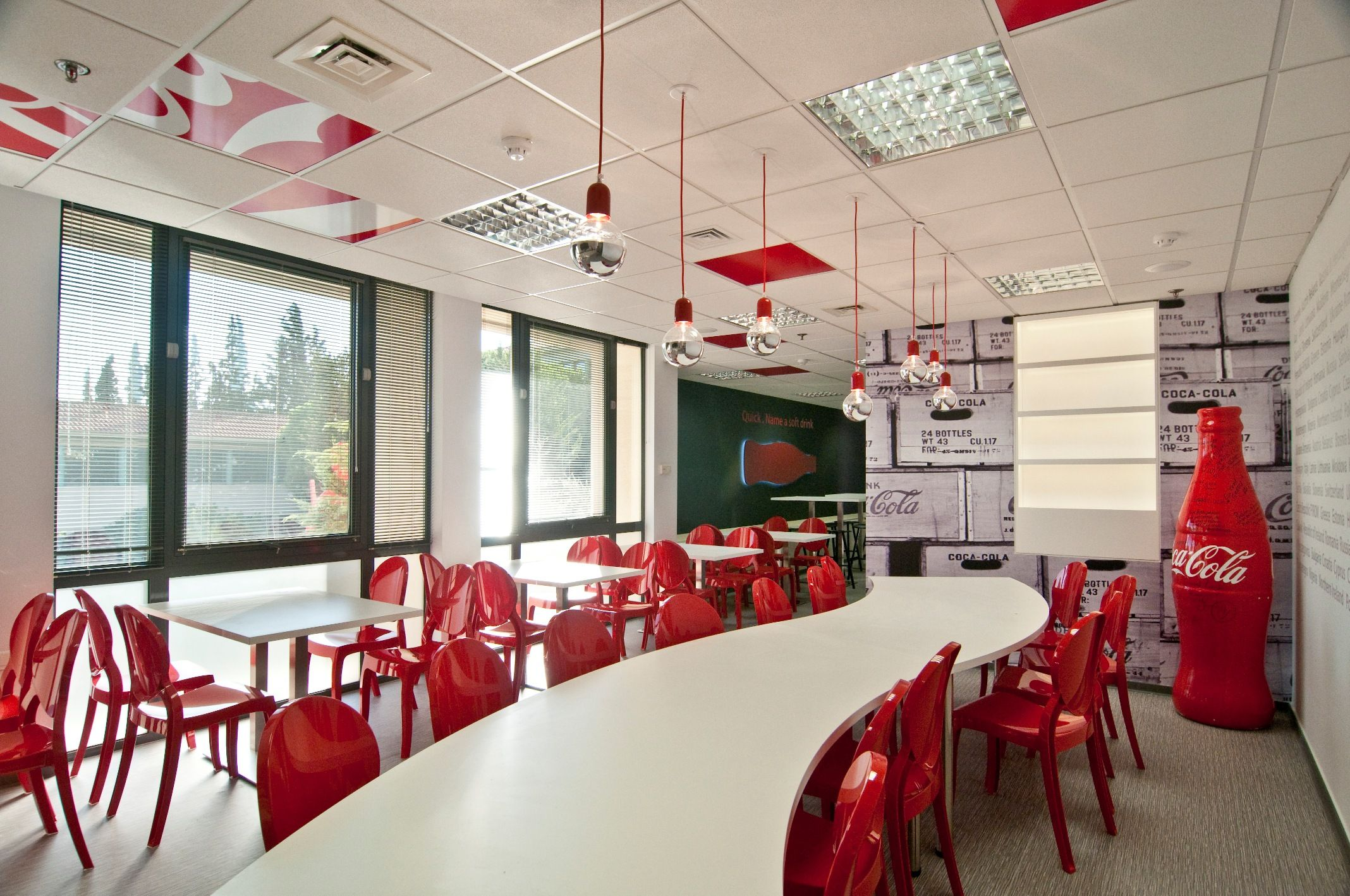Cch Office Restaurant Designed By Stirixis
