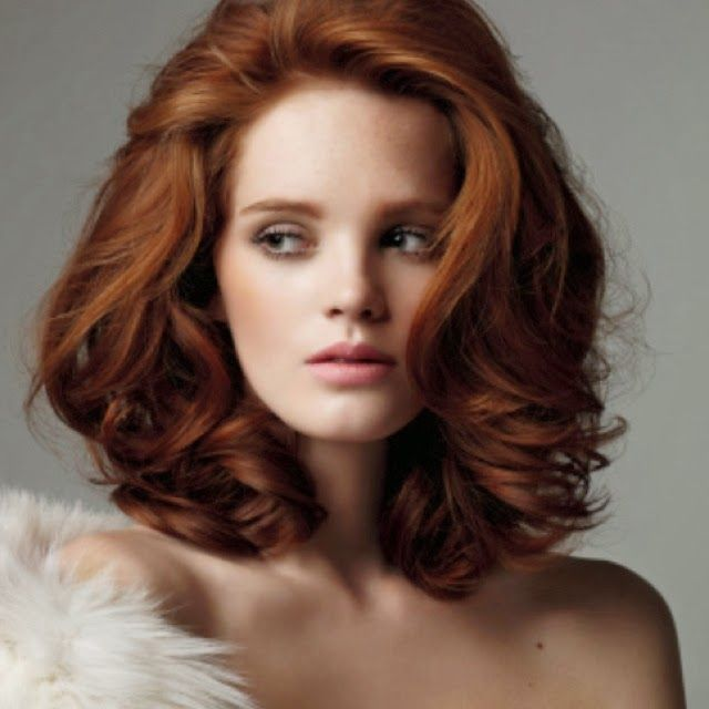 8 Flattering Ideas For Red Hairstyles Red Hairstyles Medium