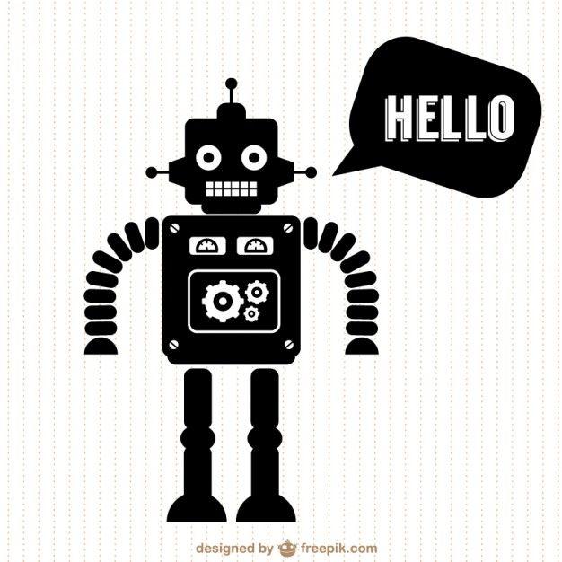 free vector family silhouette design Arts Crafts Pinterest - new robot blueprint vector art