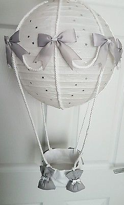 Details About Hot Air Balloon Light Shade Silver Dumbo