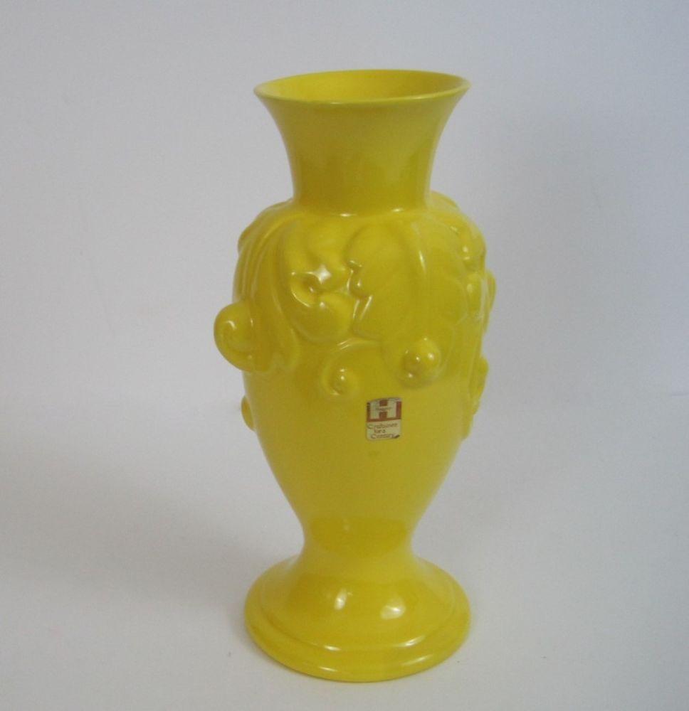 Vtg royal haeger vase bright yellow urn acanthus style 4149 1970s vtg royal haeger vase bright yellow urn acanthus style 4149 1970s 12 in tall artsandcrafts reviewsmspy