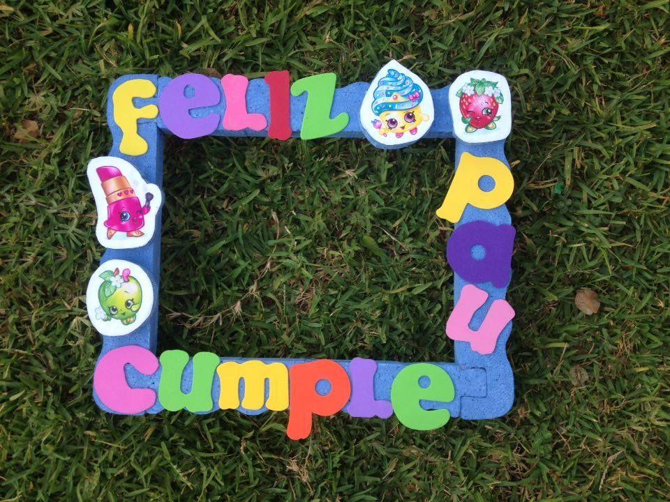 marco para fiesta infantil Precio: ventas@floreriazazil.com www ...