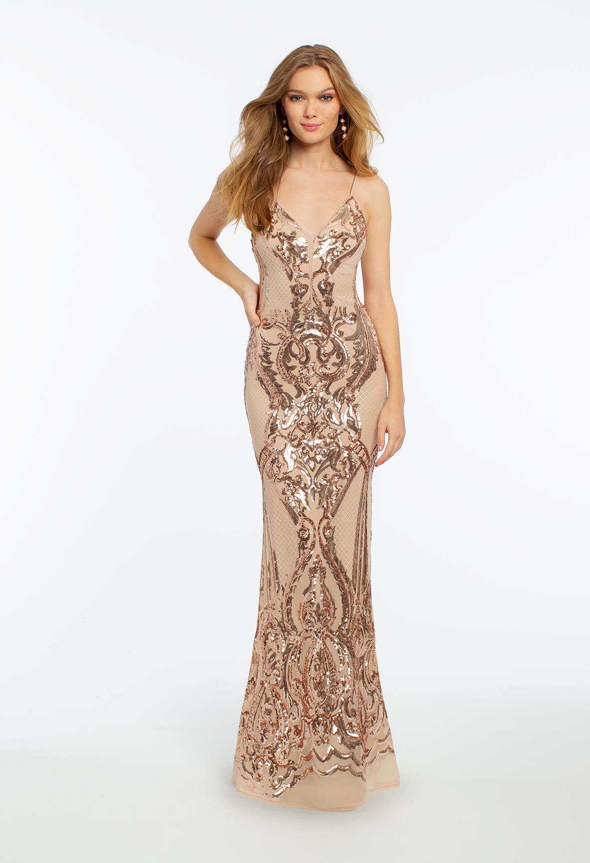 Beaded illusion back dress in prom dresses pinterest