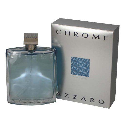 Loris Azzaro Men's Chrome Eau de Toilette Natural Spray, 6.8