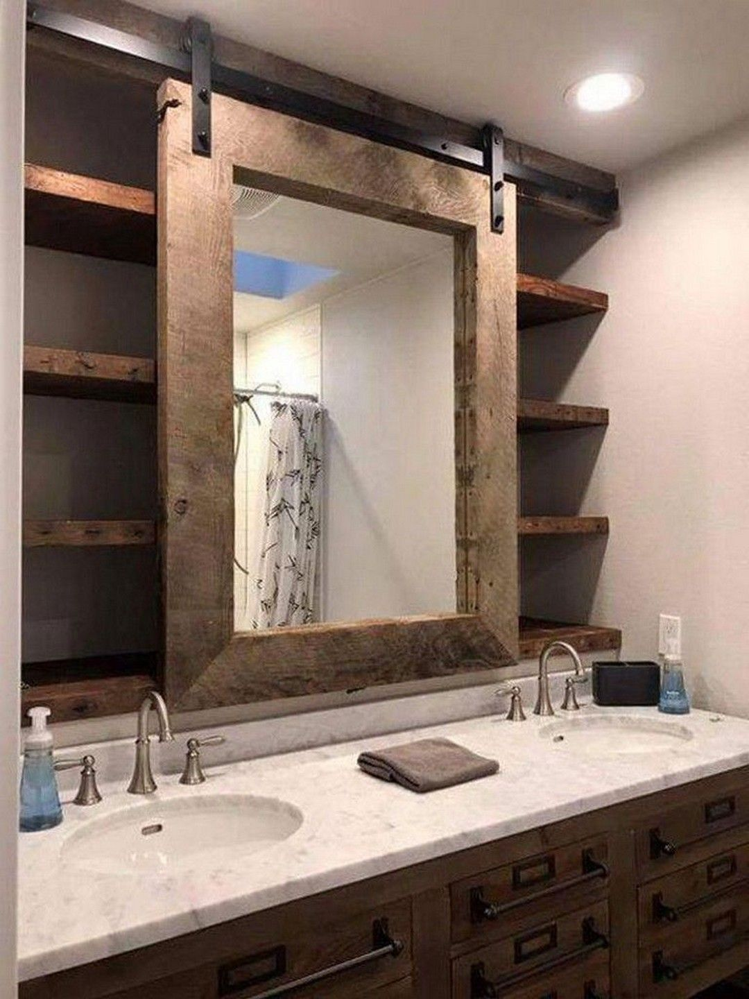22 Ways To Boost And Refresh Your Bathroom By Adding Wood Accents: Ways To Boost And Refresh Your Bathroom By Adding Wood Accents