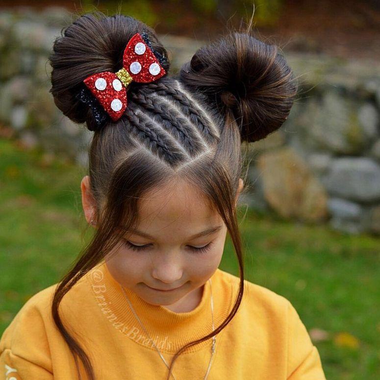 90 Penteados Para Crianças E Lindos Tuto - Hair Beauty