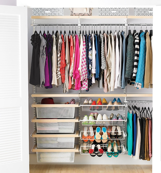 Closet Organizing Ideas Closet Bedroom Elfa Closet Closet System