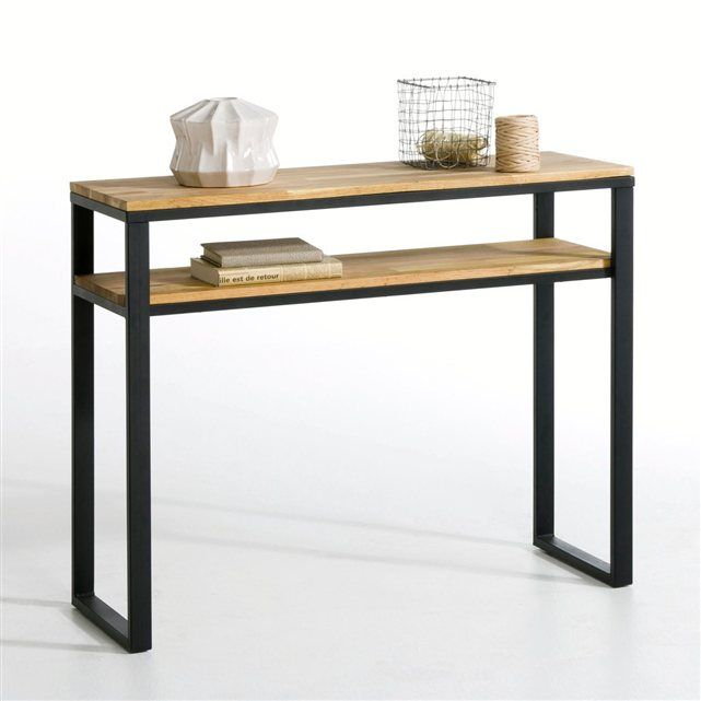 console ch ne massif about et acier hiba deco och inspiration. Black Bedroom Furniture Sets. Home Design Ideas