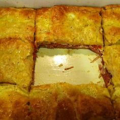 Antipasto squares #antipastosquares