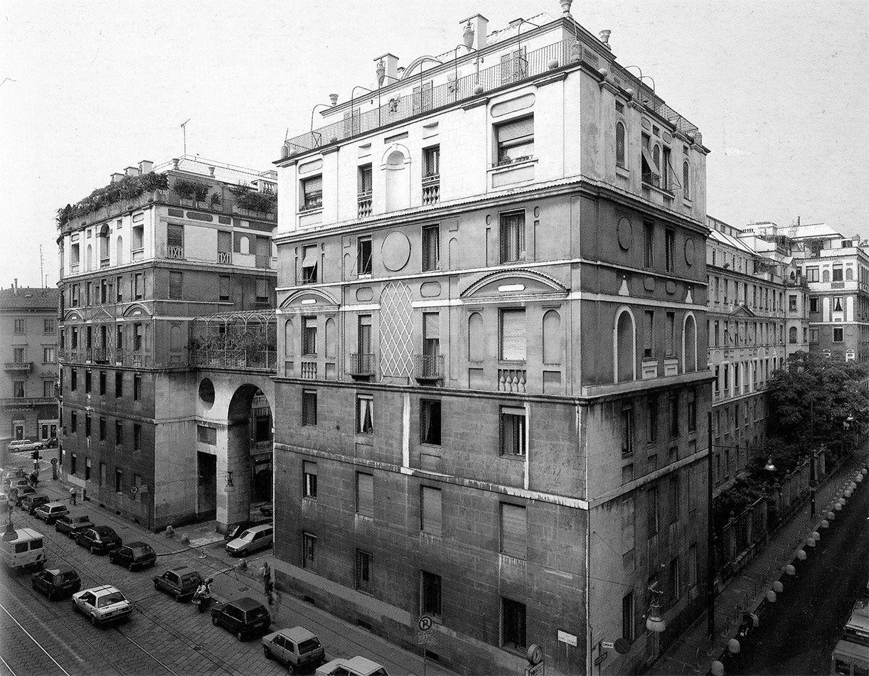 Ca' brutta, prima opera di Giovanni Muzio, Milano
