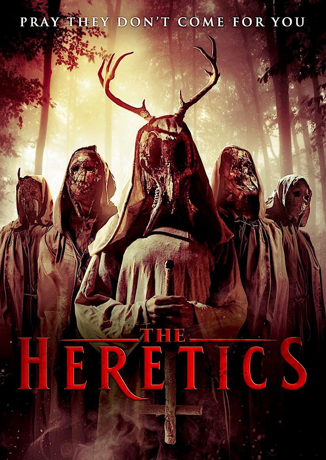 The Heretics Dvd Uncork D Entertainment Movie Posters Horror Movie Trailers Indie Movie Posters