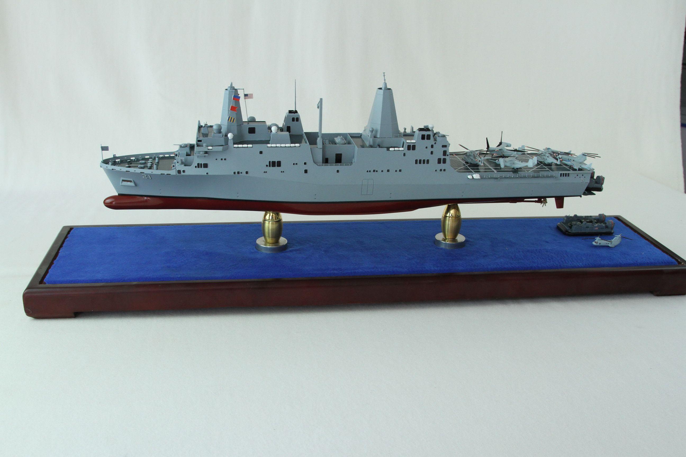 LPD211,SAN ANTONIO Class New York Model Uss nimitz, Uss
